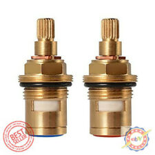 Replacement Brass Ceramic Stem Disc Cartridge Faucet Valve Quarter Turn 1/2