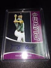 Kolby Allard 1/1 Braves 2015 Leaf Trinity Pure Purple Autograph Card