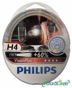 Philips H4 12V 60/55W P43t Vision Plus +60% 2st.