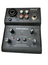 Pyle 3 Channel Professional Compact Audio PAD10MXU USB Mixer- 🔥🔥FAST SHIPPING