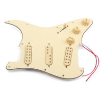 SSS Loaded Prewired Guitar Pickguard Alnico V Pickup sets for  ST Strat Guitar