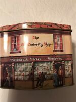 "Tin  ""The Olde Curiosity Shop, PortsmouthStreet, Kingsway. Vintage Hinged Top"