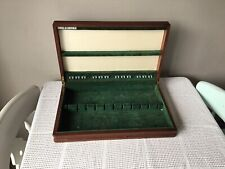 VINTAGE VINERS STUDIO SHEFFIELD CANTEEN CUTLERY BOX ONLY VELVET