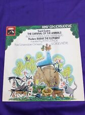 "Carnival Of The Animals, Saint-Saens, Classical Album, 12"" Vinyl Lp Record"