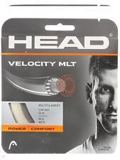 Corde Tennis HEAD Velocity Mlt natural 1.30 n.1 matassina 12m multifilamento