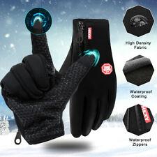 -10℃ Men Women Winter Gloves Warm Touch Screen Waterproof for Motorcycle Ski Gym