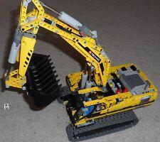 LEGO Technic 8043 - motorisé Pelle sur chenilles RARE mit Notice de montage