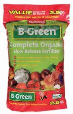 B-Green Organic Fertiliser 2.5kg  Multicrop Garden Plant Pot Flowers BGreen