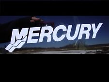 "MERCURY OUTBOARD MOTOR DECAL  BOAT MARINE FISHING 9""X2"" STICKER"
