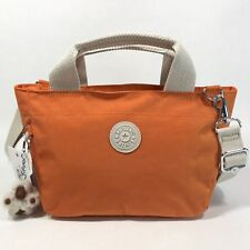 KIPLING SUGAR S II Mini Handbag CrossBody Bag Starfish Orange
