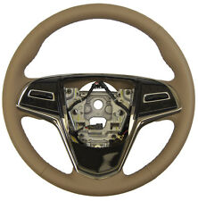 2015 Cadillac ATS Steering Wheel Med Cashmere Tan Leather New OEM 23207584