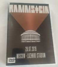 Rammstein DVD Live Moscow 29/07/2019