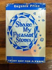 SHARE MY PLEASANT STONES by EUGENIA PRICE-OLIPHANTS 1966-H/B D/W -UK POST £3.25