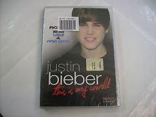 JUSTIN BIEBER - THIS IS MY WORLD - DVD SIGILLATO EX EDICOLA