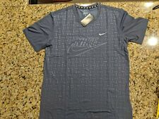 Us Large Nike Dri Fit Shirt (Grey / Gray Color )