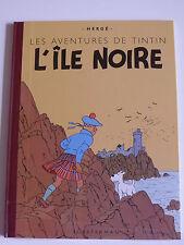 TINTIN.FAC SIMILE COULEUR.L'ILE NOIRE.HERGE.