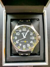 TW Steel Renault F1 Team Pilot Black 48mm Dial Watch