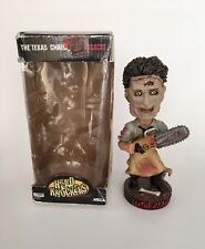 "NECA The Texas Chainsaw Massacre Leatherface 8"" Head Knockers Bobble Head Figure"