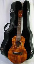 G-String Curly Hawaiian Koa w/Abalone Inlay Concert Ukulele-Semi Custom