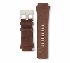Diesel Watch Replacement Strap for DZ1132 Brown Genuine Leather With Free Pins