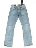 Nudie Herren Regular Bootcut Fit Jeans Hose - Slacker Jack - 2.Wahl - W31 L34