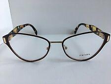 New PRADA VPR 5U8 7YT-1O1 53mm Burgundy Women's Eyeglasses Frame  #6