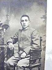 FOTO MILITARE WW1 DA IDENTIFICARE REGGIMENTO PRIMA GUERRA MONDIALE 1916 SOLDATO