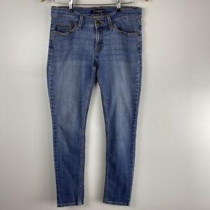 Levi's 524 too superlow size 7 M Blue Denim Skinny Jeans Low Rise Stretch 32x30