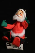 Annalee 1971 Vintage SANTA ON A CB RADIO Doll RARE