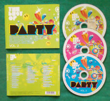 3 CD Compilation The Best of Party Vol.2 CHUMBAWAMBA GIGI D'AGOSTINO no lp(C1)
