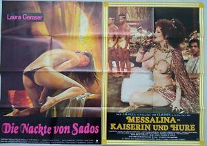 Konvolut / Lot  24x Filmplakate / Kinoplakate Sex / Erotik  #1