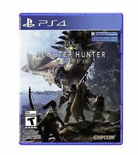 Monster Hunter: World [Sony PlayStation PS4 Capcom RPG Fight Huge Monsters] NEW