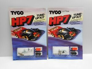 Vintage -  TYCO HP7 HO scale Replacement Parts - 2 Cards with TUNE-UP KITS