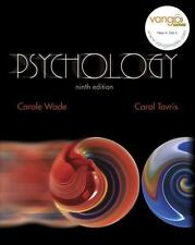 Psychology (9th Edition) (MyPsychLab Series) by Carole Wade, Carol Tavris, Good