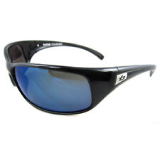 Bolle Sunglasses Recoil 11051 Polished Black Offshore Blue Polarized
