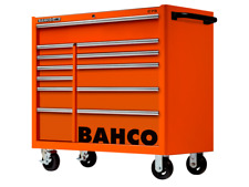 Bahco 1475KXL12 C75 Classic 40″ 12 Drawer Mobile Roller Cabinet Orange