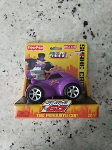 Shake N Go The Penguin's Car DC Friends Fisher Price Target Exclusive 2009
