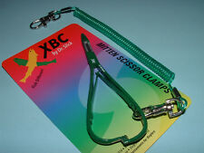 Dr Slick XBC 5 in Green Mitten Scissor Clamp Straight Fishing Clamps CMS5GREEN