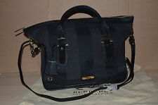Authentic Burberry Kirley Bowling Medium Tote Canvas Leather Handbag $1695