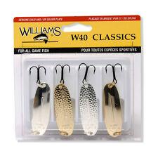 Williams W40 Classics 4 Pack Kit - 4-40 - Fishing Lures