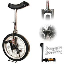 "Indy 'Freestyle' 20"" unicycle with splined cranks"