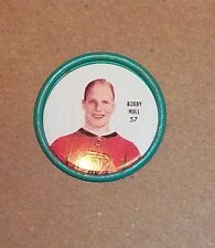 Shirriff coin Bobby Hull # 57 AW metal 1962-63  set 1