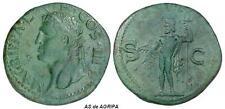 Año -48 al 47 d C. Agrippa. Acuñado bajo Calígula. AS. Dupondio. Bronce.