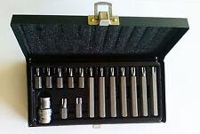 Yato Yt-0411 destornillador set de brocas Torx 15 unidades estuche Metálico