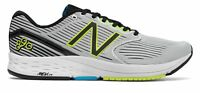 New Balance Men's 890v6 Shoes White with Black & Yellow