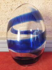 oeuf en verre de Bjorn Ronnqvist Suède design glass egg