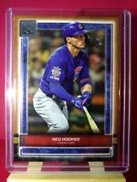 2020 Topps Museum Collection RC Nico Hoerner Copper Parallel Chicago Cubs