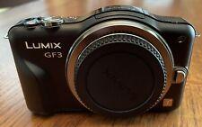 Panasonic LUMIX DMC-GF3 GF3 12.1MP Digital Camera - Black Body
