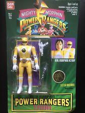 Vintage1994 Bandai Mighty Morphin Power Rangers with tattoo Trini yellow NIP
