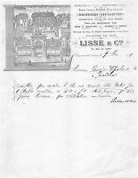 Ancienne lettre - LISSE & Cie - CHAUMONT 1891
